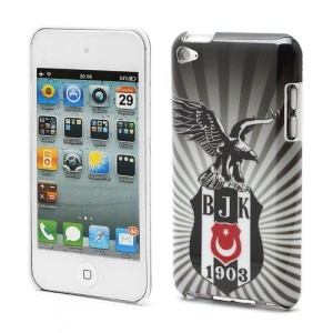Turkish Sports Club BJK Durable Hard Plastic Shell for iPod Touch 4