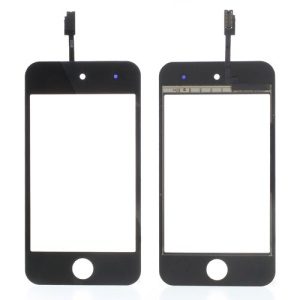 Black High Quality Digitizer Touch Screen Repair Parts for iPod Touch 4 4th 4G