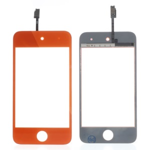 Orange High Quality Digitizer Touch Screen Repair Parts for iPod Touch 4 4th 4G