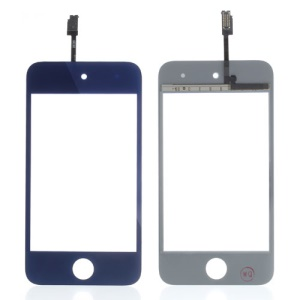 Dark Blue High Quality Digitizer Touch Screen Repair Parts for iPod Touch 4 4th 4G