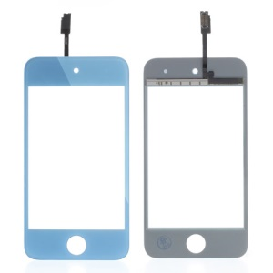 Baby Blue High Quality Digitizer Touch Screen Repair Parts for iPod Touch 4 4th 4G