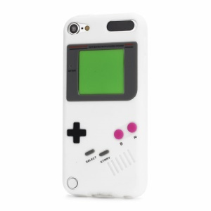 Retro Nintendo Game Boy Silicone Case Cover for iPod Touch 5 - White