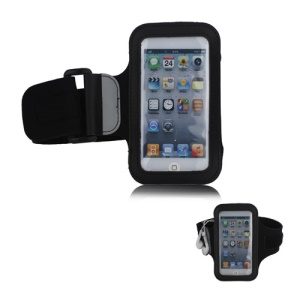 Brand New Anti-Slip Sports Gym Jogging Armband for iPod Touch 5 - Black
