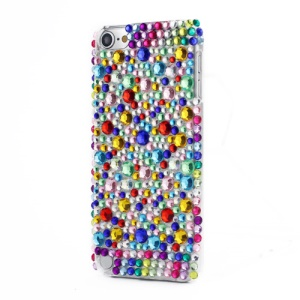 Colorful Diamonds Back Snap-on Hard Case Cover Skin for iPod Touch 5