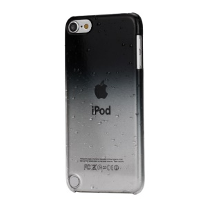 Gradient Color Raindrop Hard Case for iPod Touch 5 - Black