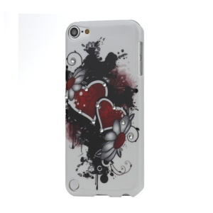 Heart to Heart Diamante Smooth Hard Plastic Case for iPod Touch 5