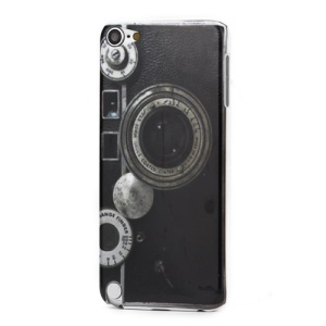 Retro Camera Pattern Protective Hard Case for iPod Touch 5
