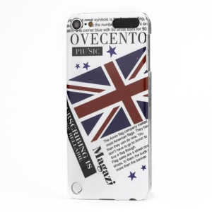 Union Jack Flag Smooth Hard Plastic Case for iPod Touch 5