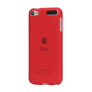 Naked TPU Gel Case Accessories for iPod Touch 5 - Red