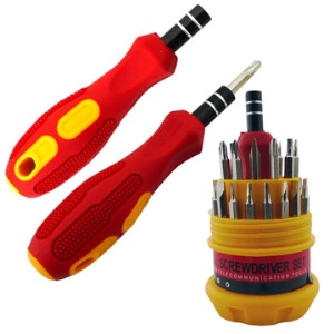All in one Electronics Screw Drivers Toolkit (28 pcs adapter include)