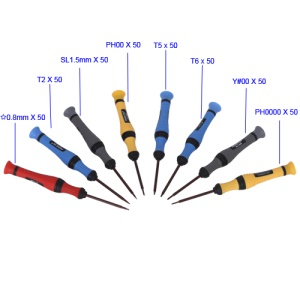 8 in 1 Screwdriver Set Opening Tools for iPhone and Other Mobile Phones