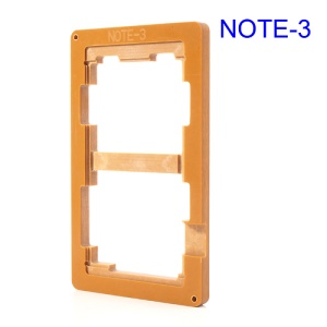 Precision Screen Refurbishment Mould for Samsung Galaxy Note 3 LCD and Touch Screen