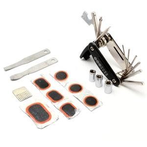 Multi-Purpose Bike Bicycle Tool Set Foldable Repairing Kit