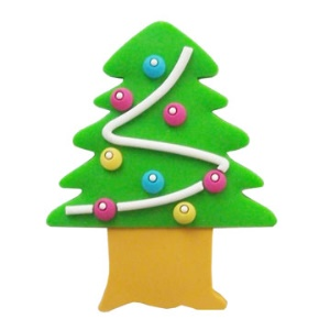 Christmas Tree Style USB Flash Disk,2/4/8/16GB Available