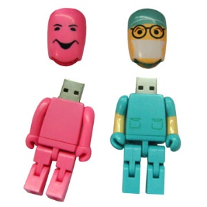 Puppet USB Flash Disk,2/4/8/16GB Available
