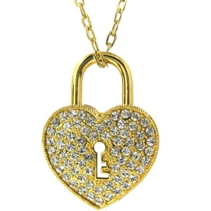 Heart-key Diamond USB Flash Disk