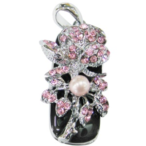 Flower Diamond USB Flash Memory