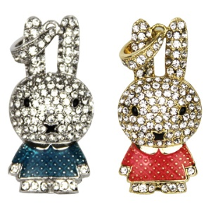 Newest Diamond Rabbit USB Flash Memory Disk