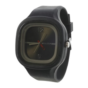 Charming Sport Silicone Jelly SS.COM Watch - Black