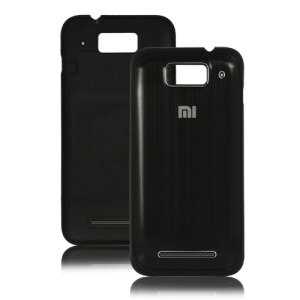 Brushed Housing Back Cover for XiaoMi M1 Miui M1 Mi-One Plus - Black