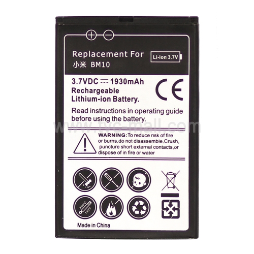 Cell Phone Battery Replacement for Xiaomi M1 / MIUI M1 MI-ONE Plus