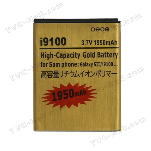 Samsung i9100 Galaxy S ii Battery Replacement 1950mAh, high capacity