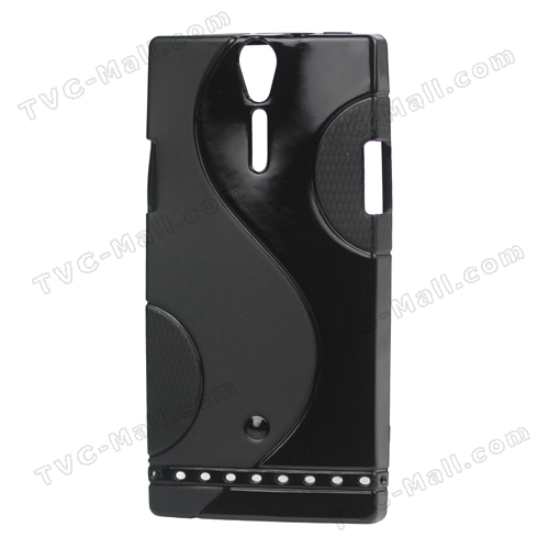 Novel S Shape TPU Case Cover for Sony Xperia S LT26i LT26a / Nozomi