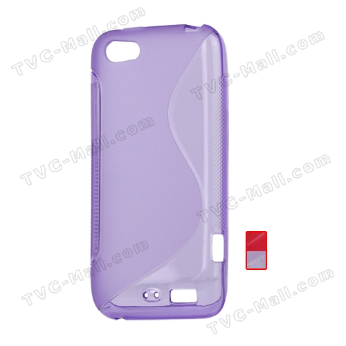 S-Line Wave TPU Case Cover for HTC One V T320e