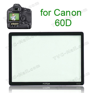 FOTGA Pro Optical Glass LCD Screen Protector for Canon 60D