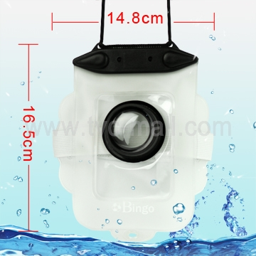 Waterproof Case Dry Bag for Card Digital Camera, Inner Size: 14cm*10.5cm