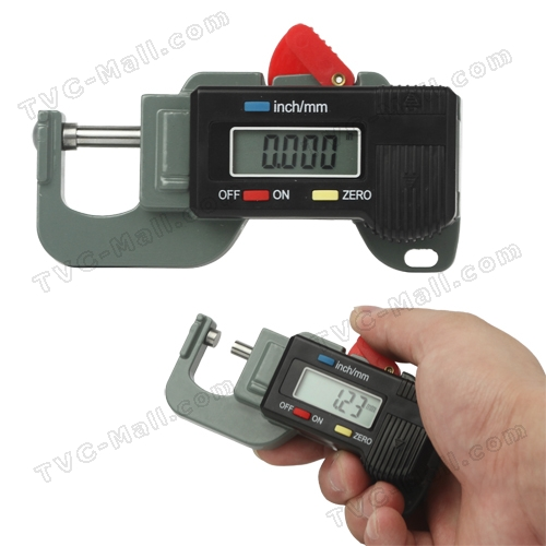 Digital Thickness Gauge 0~12.7mm (0.01mm) Precision Measurement