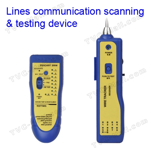 Multi-Purpose Telephone Network Cable Wire Tracker Scanning Testing Tool