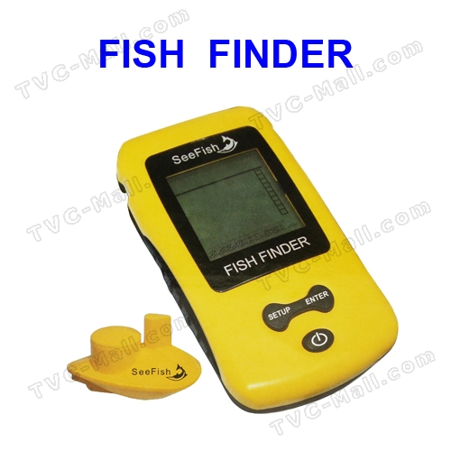 Wireless Sonar Fish Finder Portable Fishfinder Alarm