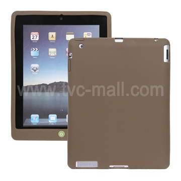 Flexible Silicone Skin Case Cover for Apple iPad 2