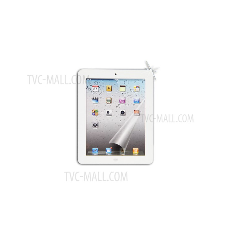 Clear Screen Protector for iPad 2nd 3rd Generation The New iPad 4G LTE / Wi-Fi
