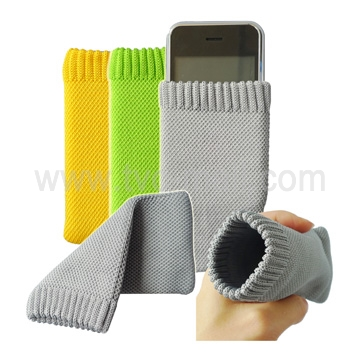 Knit Soft Sock Case Pouch for iPhone 4,4S,3GS,3G,2G