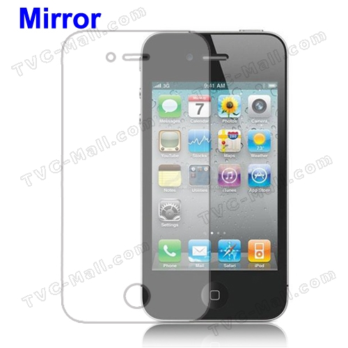 Mirror Screen Protector Guard Film for iPhone 4 4S