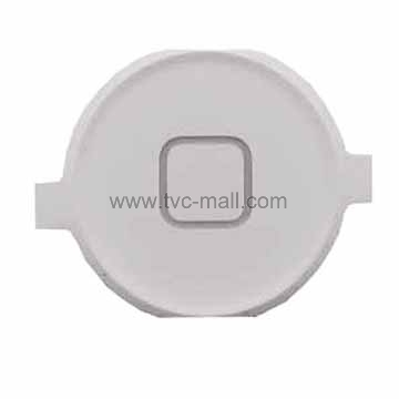 Replacement White Home Button Key for iPhone 4 4G OEM