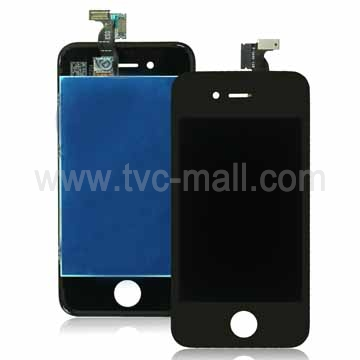 Pre-assembled LCD and Digitizer Panel for iPhone 4 4G (Black)