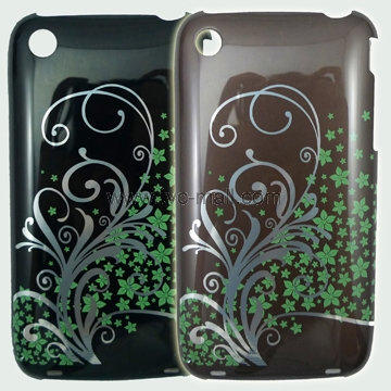 Phoenix Flowers Polish Hard Case Cover for iPhone 3GS/3G