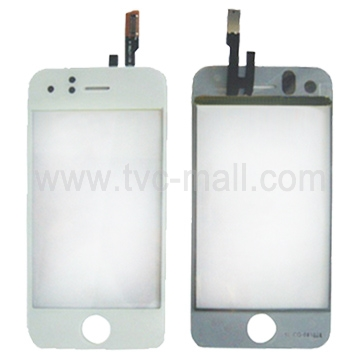White Touch Screen Glass Panel for iPhone 3GS (OEM)