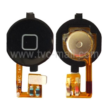 2 in 1 Home Button + Home Button PCB Membrane Flex Cable for iPhone 3GS