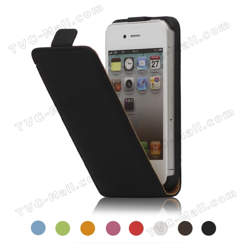 Premium Magnetic Leather Case Cover for iPhone 4 4S