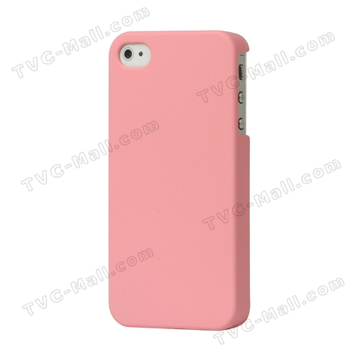 Rubberized Hard Case Cover for iPhone 4 4S - Pink