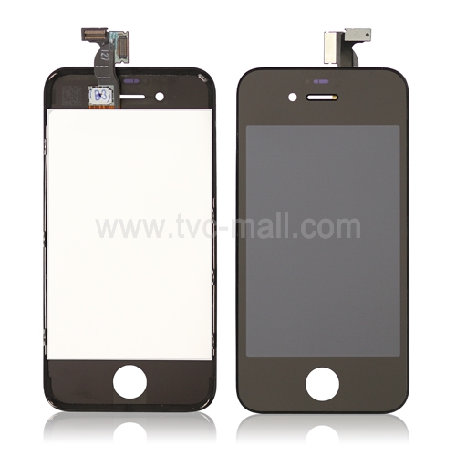 iPhone 4S LCD Assembly with Touch Screen Digitizer - Black