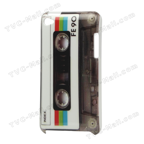 Cassette Tape Hard Cover Case for iPod Touch Gen 4th 4G 4