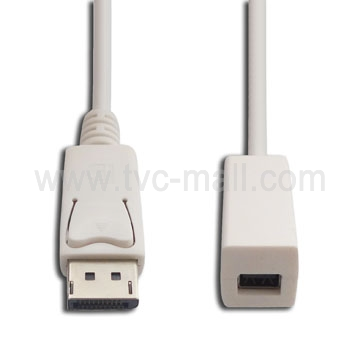 Mini Displayport Female to Displayport Male Adapter Cable(1M)