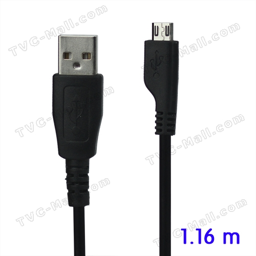 Micro USB Data Sync Charger Cable for Samsung Phones, Length: 1.16m