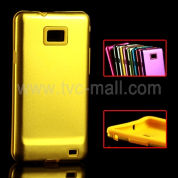 Tough Aluminium &amp; Silicone Case for Samsung i9100 Galaxy S 2