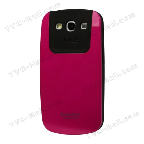 Premium iFace Shock-Absorbing Hybrid Case for Samsung Galaxy S 3 / III I9300 I747 L710 T999 I535 R530 - Rose